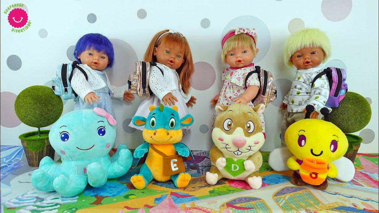 ¡Los Nadurines van al colegio! Nuevas Mimochic con miniaturas de juguete
