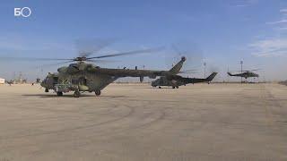 Российские военные зашли на базу США в Сирии