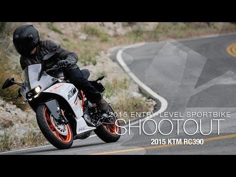 2015 KTM RC390 - Entry Sport Shootout Pt 4 - MotoUSA