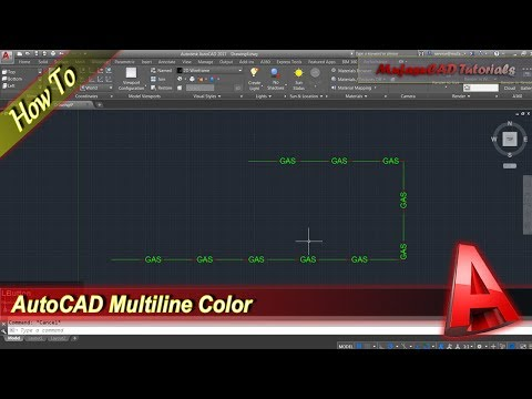 how to change color autocad
