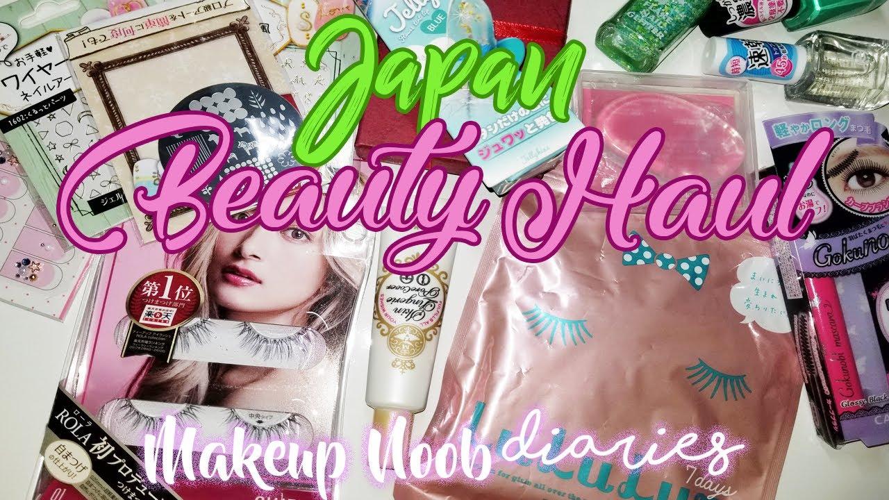 Japan Beauty Haul  Makeup Monday