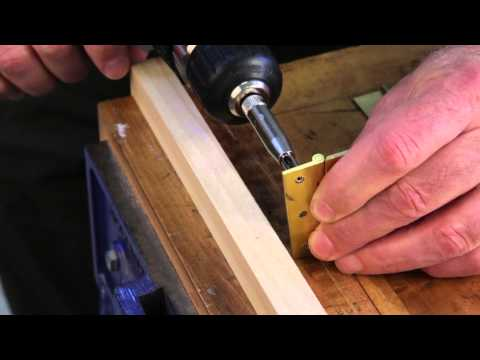 Installing Continuous Hinges