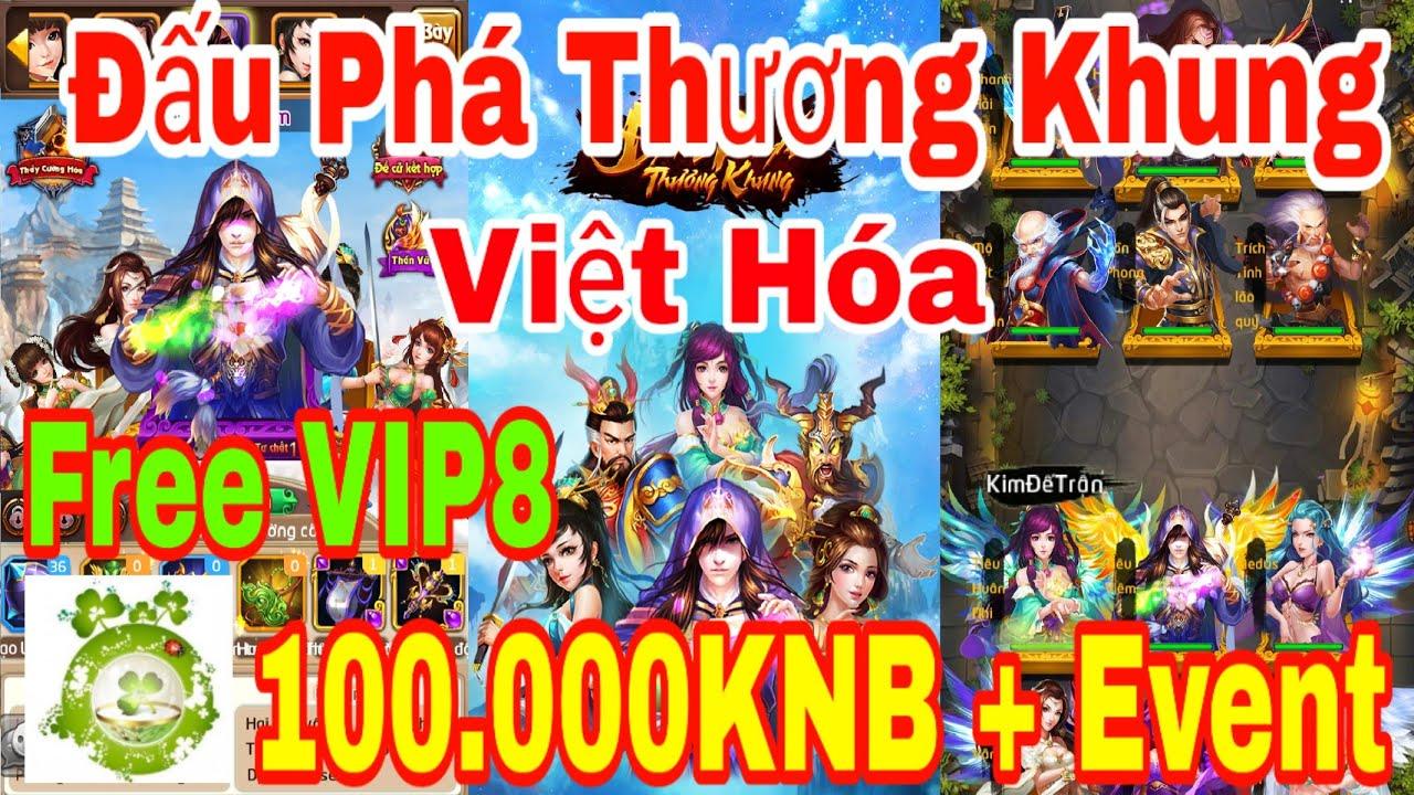 Game Private Đấu Phá Thương Khung Việt Hóa | Free VIP8 – 100.000KNB Đầu Game + Quà Event