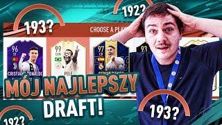 MÓJ NAJLEPSZY DRAFT z PELE 99 w FIFA 19! | JUNAJTED