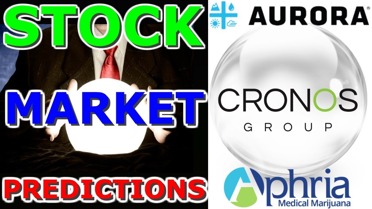 Stock Market Predictions With Aurora Millionaire Predicting Aurora Aphria And Cron On Monday