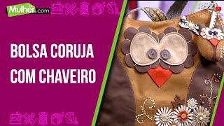 Bolsa coruja com chaveiro – Vanessa Iaquinto pt1