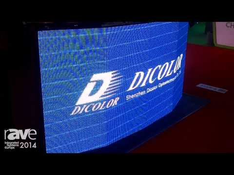 ISE 2014: Dicolor Shows Its P4mm U-smart LED Display