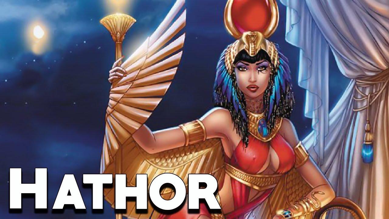 Hathor La Diosa Egipcia De La Belleza Mitología Egipcia Mira La Historia Youtube