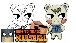How to Draw Marshall | Animal Crossing