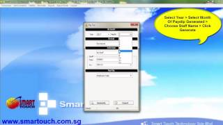 Malaysia Payroll Tutorial : How to Export Payslip Into PDF File Using Payroll System