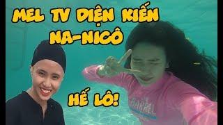 """[DAILY VLOG] Khám Phá Hồ Bơi Mới, Mel TV Đụng Độ """"Na-NiCô"""""""