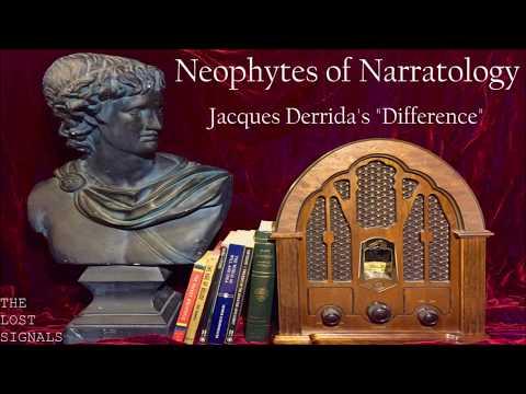 Narratology: Jacques Derrida