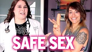 How Lesbians Have Safe Sex (Gay Gyno Explains ALL!)