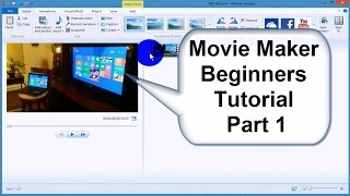Windows Movie Maker tutorial 2015-Tips & Tricks - Best Video Editor Free & Easy - Part 1