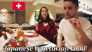 和食でおもてなし!ベジタリアンカップルが精進料理に感動!Japanese Vegetarian Food! thumbnail
