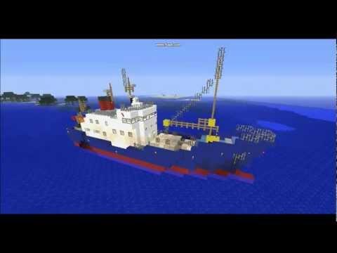 "Minecraft - Research Ship ""R.V. Poseidon"""