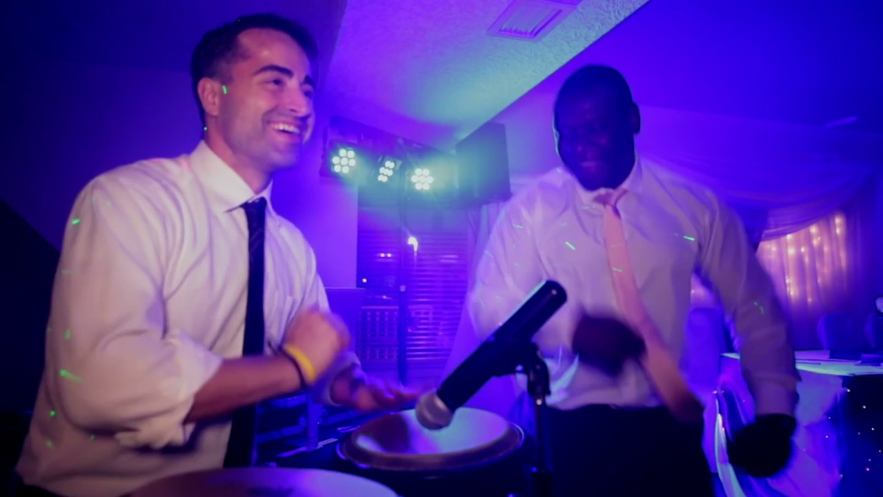 Kitcho DJ'ing:Playing Congas at DI Pede Wedding May 2016