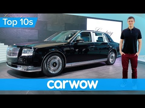Toyota's Rolls-Royce for half the money - the incredible 2018 Century | Top10s