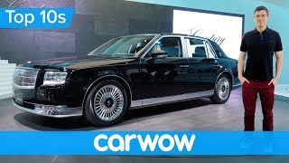 Toyota's Rolls-Royce for half the money - the incredible 2018 Century | Top10s thumbnail