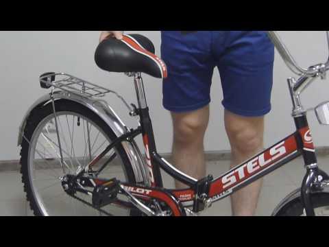 Как сложить велосипед стелс видео