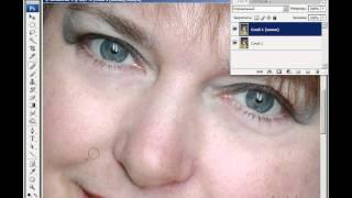 Photoshop - Ретуширование лица (урок 37)