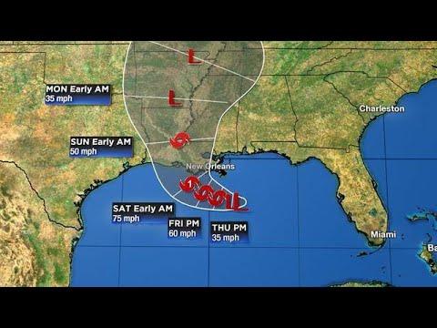 Tracking The Tropics: Britta 6:50 A.m. Weather Update