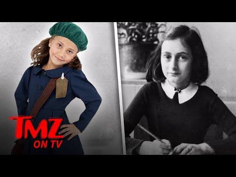An Anne Frank Halloween Costume Has People Fuming!   TMZ TV