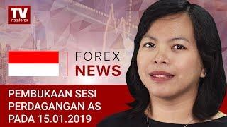 InstaForex tv news: 14.01.2019: Sementara itu, para trader menghindari risiko