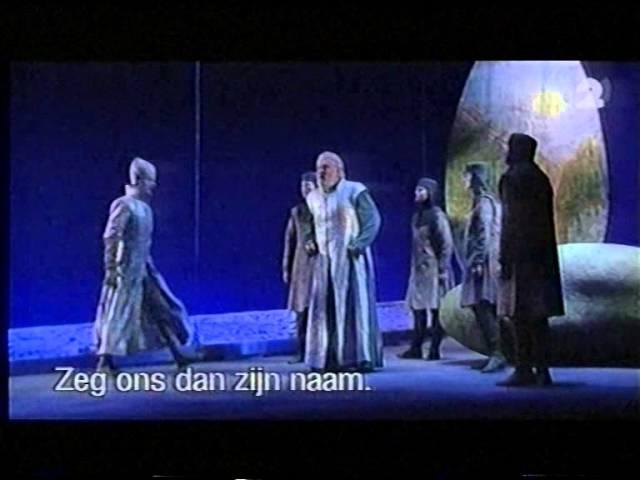 Julian Hartman als 2.Gralsritter in Richard Wagner's Parsifal bij de Vlaamse Opera