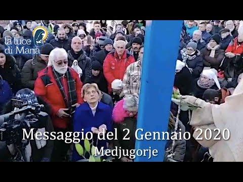 Risultati immagini per Messaggio della Regina della Pace a Medjugorje del 2 gennaio 2020 a Mirjana e commento di Don Livio Fanzaga