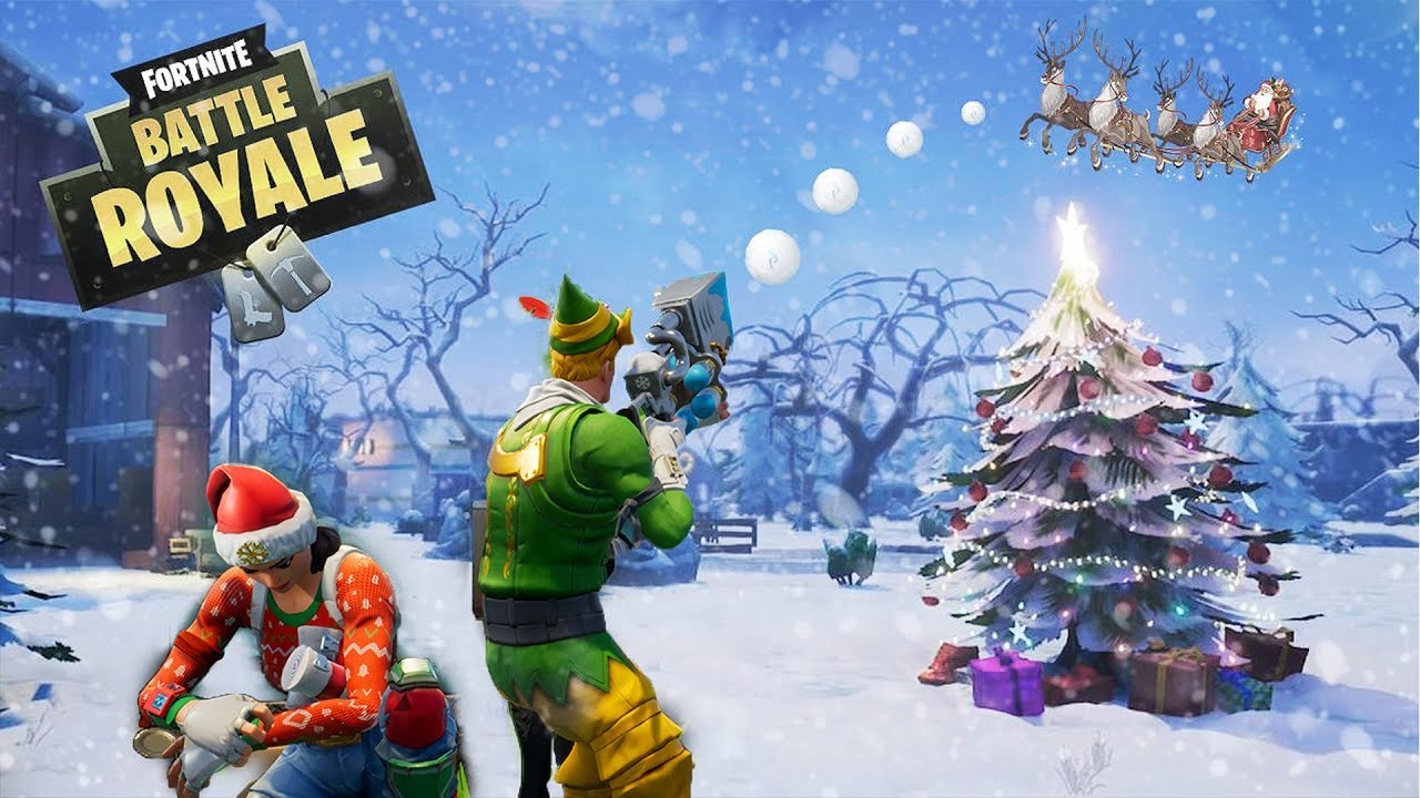 Image result for fortnite christmas
