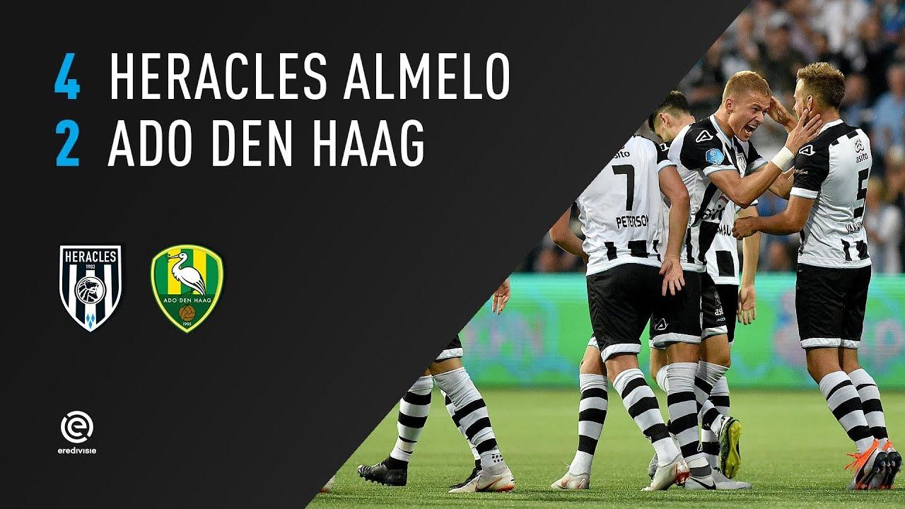 Heracles Almelo - ADO Den Haag | 18-08-2018 | Samenvatting