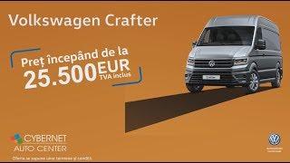 Alege prețul promoțional pentru Volkswagen Crafter!