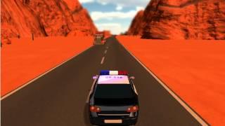Игры для мальчиков - Гонки на машине полицейского