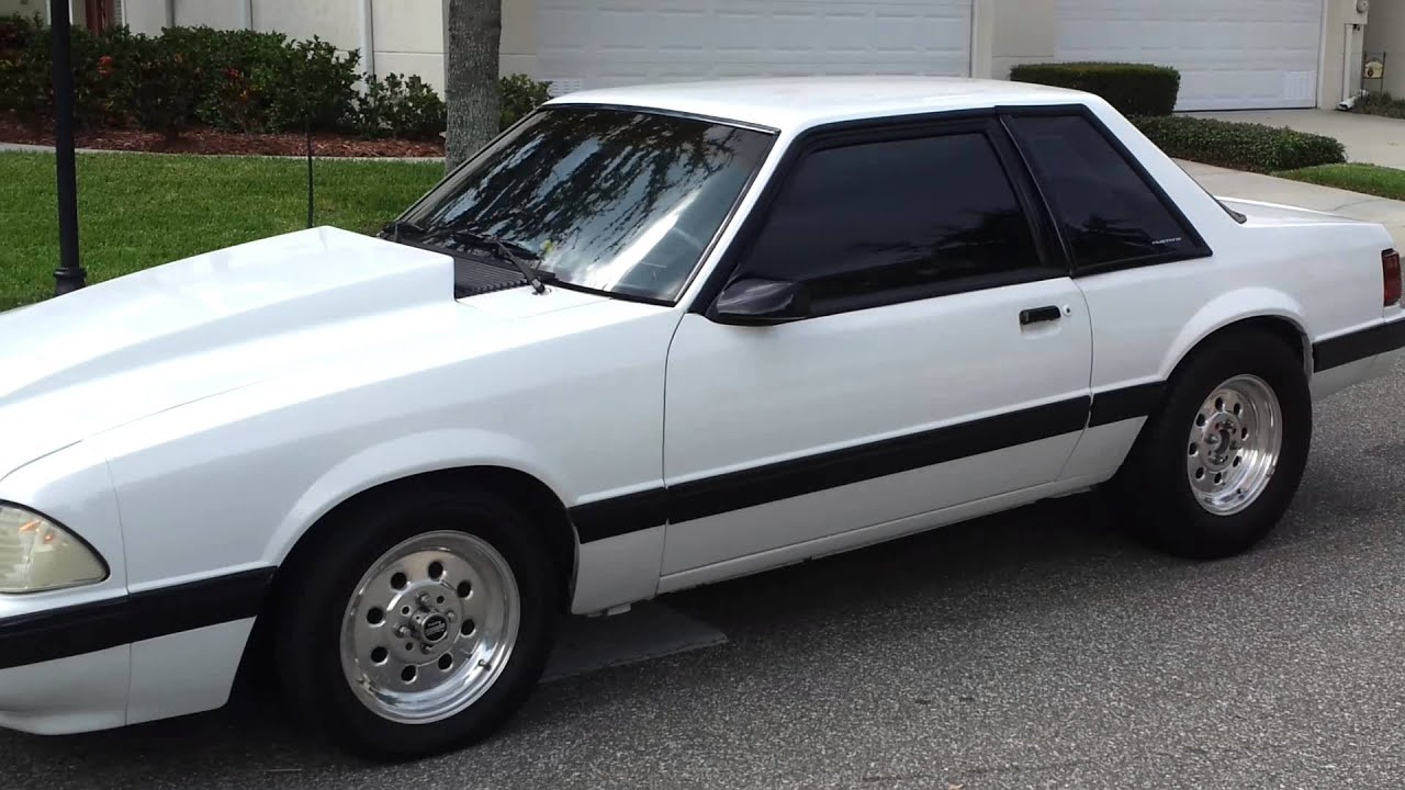 My 91 mustang foxbody for sale idle youtube