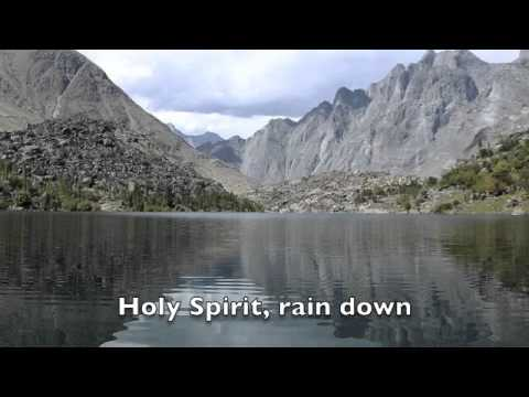 Holy Spirit Rain Down_Alvin Slaughter w lyrics