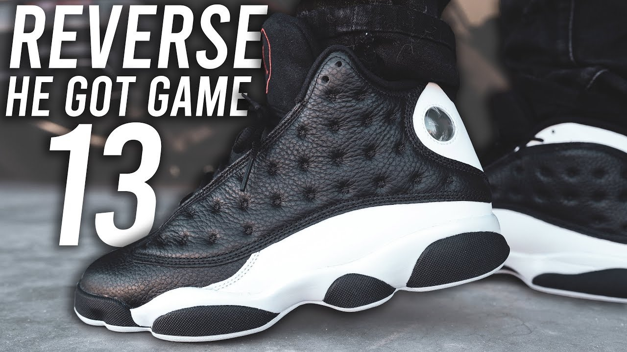 AIR JORDAN 13 REVERSE HE GOT GAME REVIEW AND ON FOOT !!!