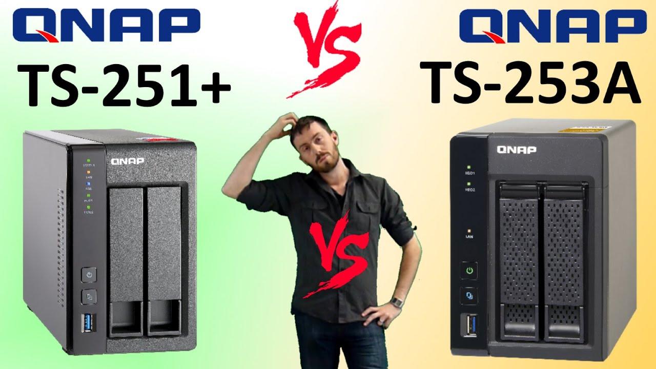 The QNAP TS-251+ vs The QNAP TS-253A - QNAP NAS HDMI 2016 Faceoff featuring  TS-253A-4G & TS-251+-2G