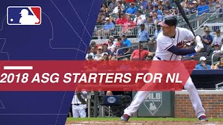 2018 National League All-Star starters