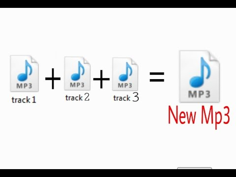 Merge Mp3 files into one (ONLINE,without any software) 2016