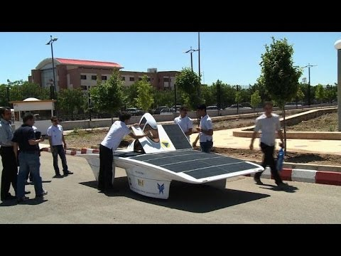 Iran's solar car challenge depends on US plane ticket