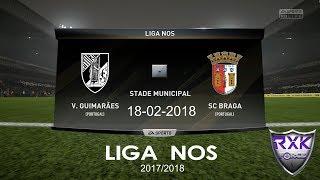 Video Gol Pertandingan Vitoria Guimaraes vs Sporting Braga