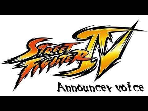 Street Fighter IV Announcer Voice/quotes  (vanilla Version)