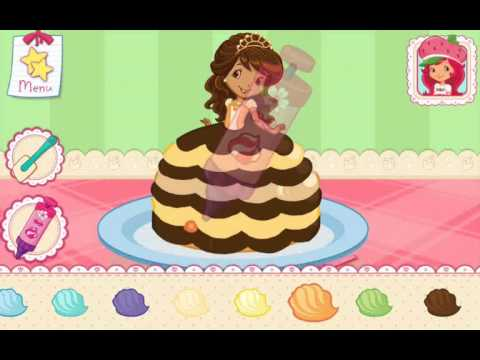 Strawberry Shortcake Bake Shop Princess Cake Games Part