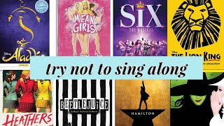 Try Not to Sing Along: Musical Theatre Edition