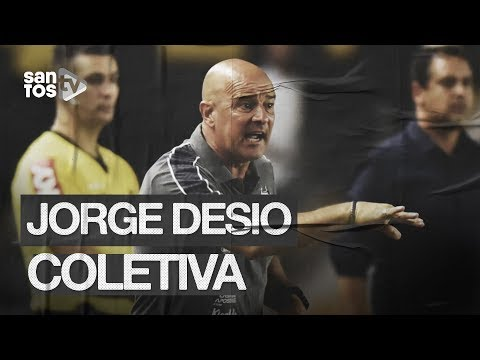 JORGE DESIO | COLETIVA PÓS-JOGO (01/12/19)