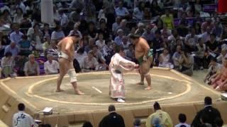 大相撲本場所の幕下&十両の取組を中心に自分で撮影した動画をアップして...