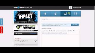 How to Post Empower Network Blog || Viral Blog Earn $1000 Per day!!