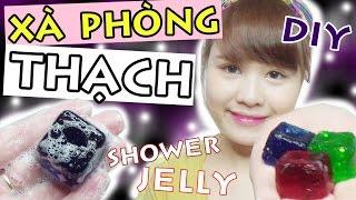 HU?NG D?N LAM XA PHONG TH?CH HANDMADE - Shower Jelly DIY | Ng?c Bube