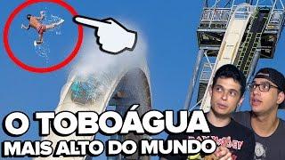 O TOBOÁGUA MAIS ALTO DO MUNDO - #VSResponde